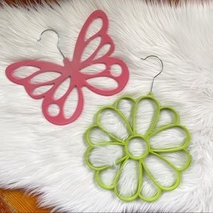 Scarf Holder Butterfly and Flower Bundle of 2